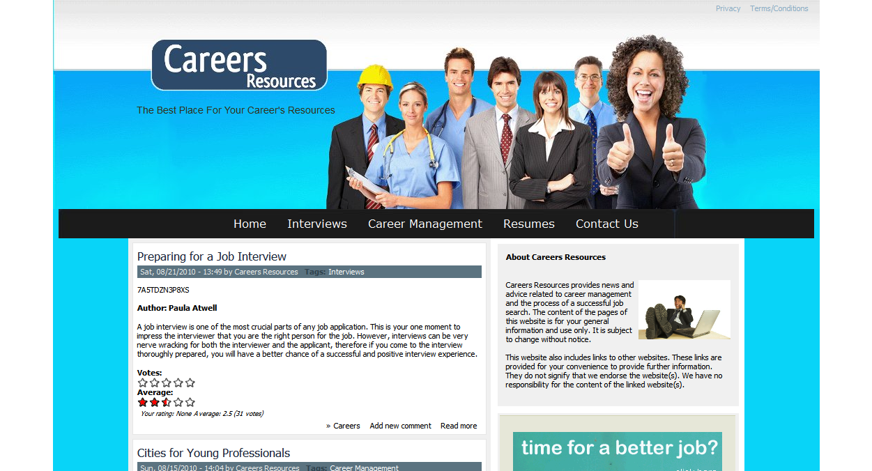 Careers Resources - The Best Place For Your Career's Resources